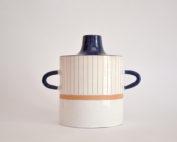 Shabby Blue Vase