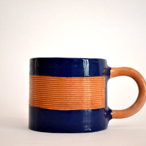 Deep Blue Mugs