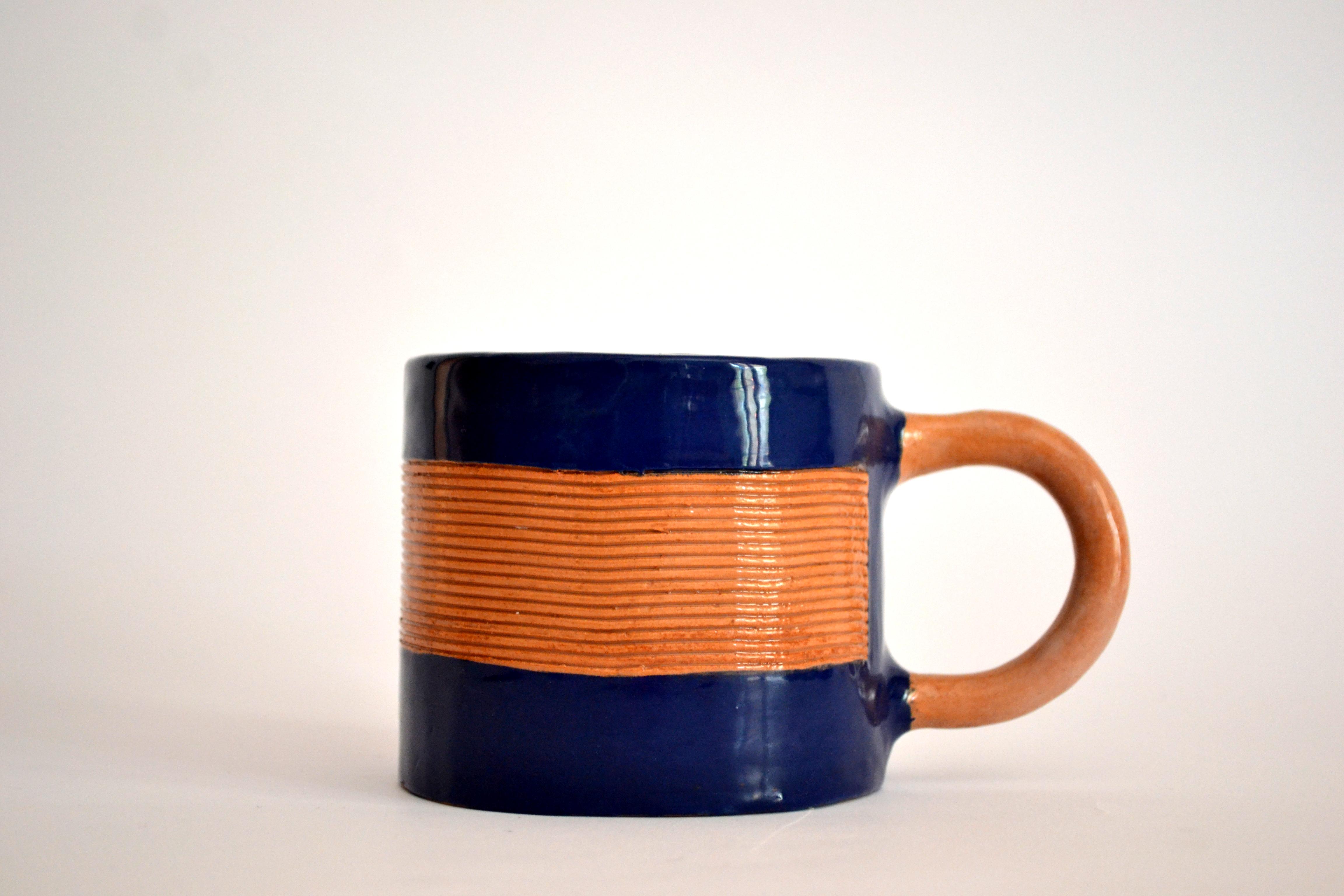 Deep Blue Mugs