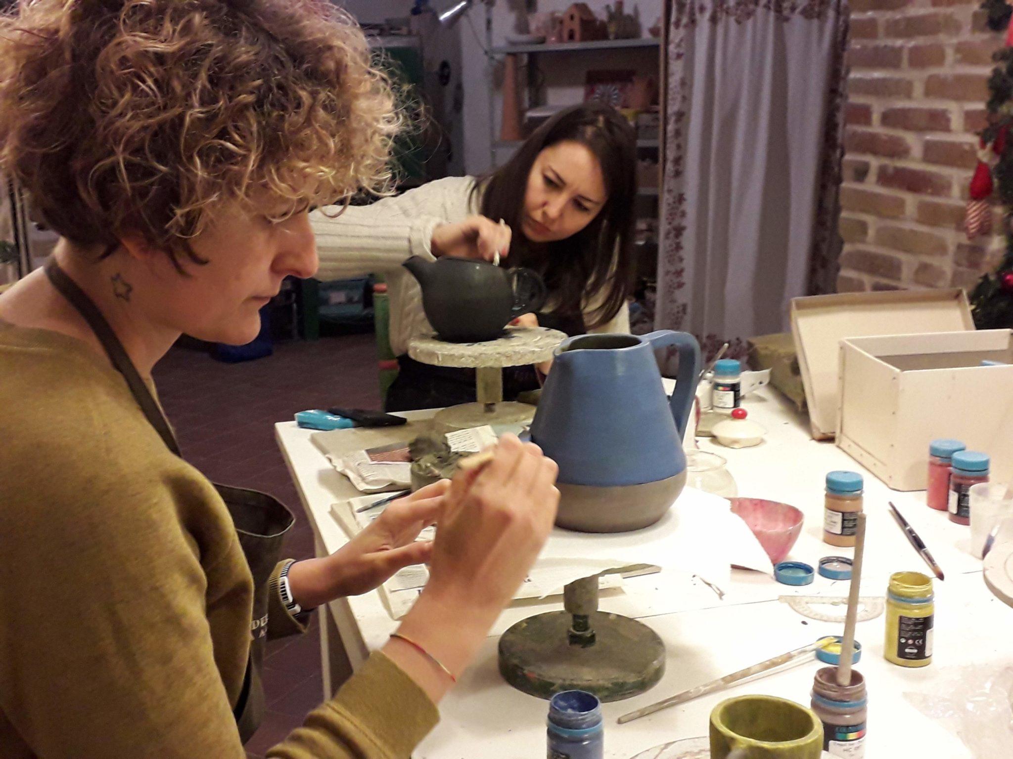 Corso serale di ceramica